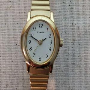 Gold tone TIMEX Slim Women's Watch